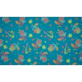 Tricot Flowers – Turquoise
