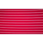 Viscose Stripe Rood