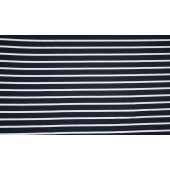 Viscose Stripe Navy